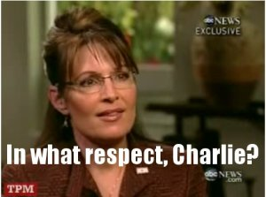 Sarah Palin ponders the Bush Doctrine