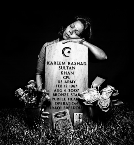 His name was Kareem Rashad Sultan Khan. And he was an American.