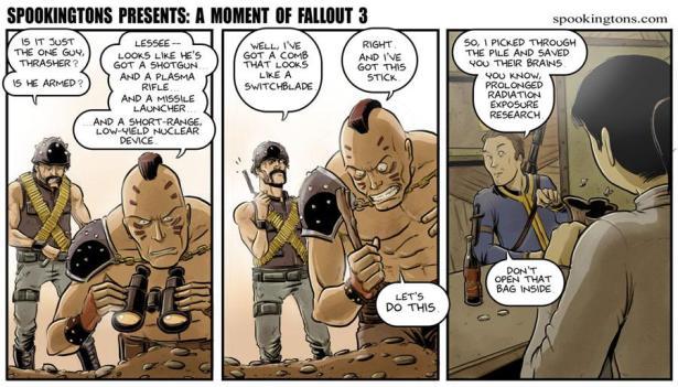 Fallout 3 Comic