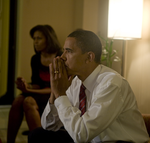 Obama thinking about being President