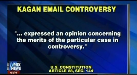 "The ""Constitution"" from Fox News"